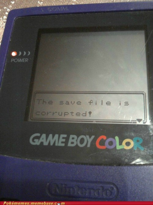 classic,game boy color,IRL,Pokémon,save file