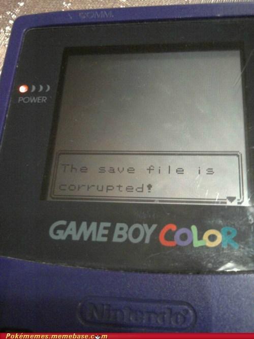 classic game boy color IRL Pokémon save file - 5949168640