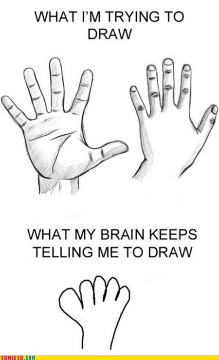 Close Enough drawing hand the internets - 5949261056