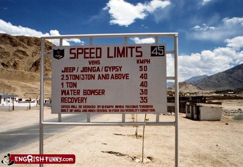 bowser engrish india mario sign speed limit - 5949400064
