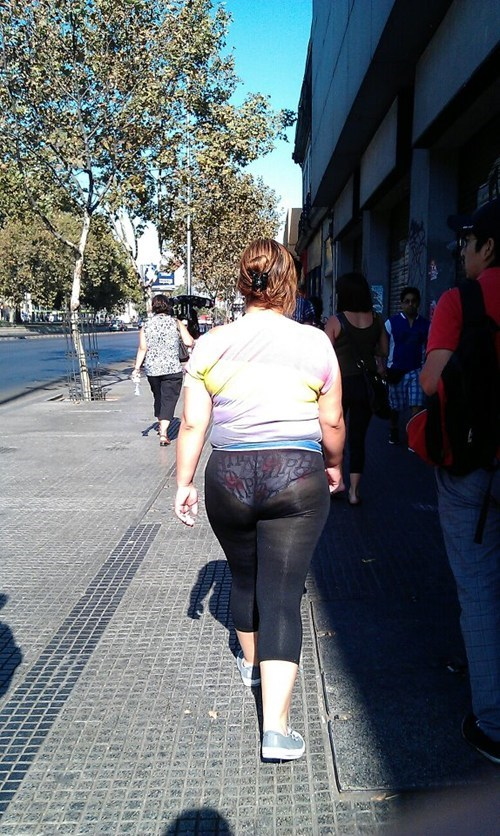 fashion fail Hall of Fame see thru tights underwear