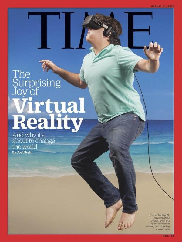 Luckey Palmer time virtual reality oculus internet VR photoshop oculus rift ridicule Video Game Coverage