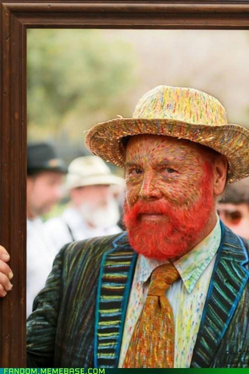 artists cosplay self portrait Van Gogh - 5949525248