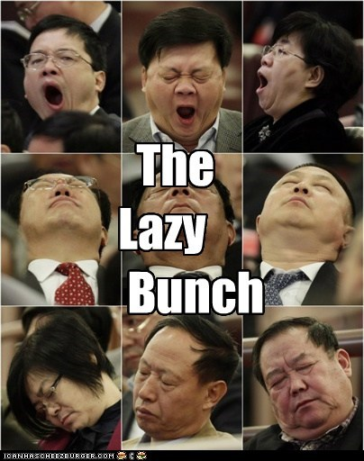 brady bunch,China,political pictures,sleep