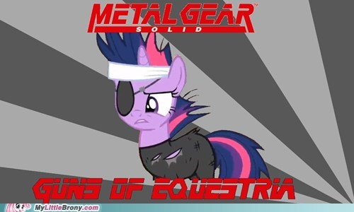 equestria meme metal gear solid war - 5949631488