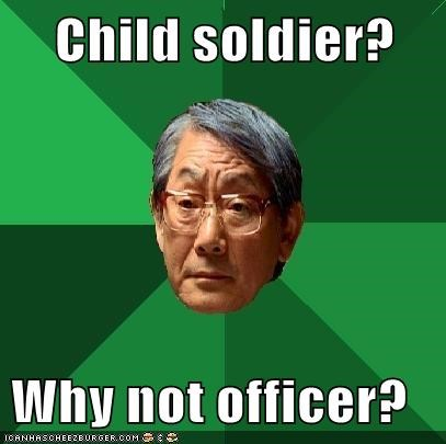 child high expectations asian dad officer soldier - 5949880576