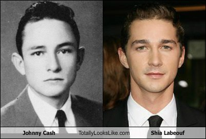 actor,celeb,funny,johnny cash,Music,shia labeouf,TLL