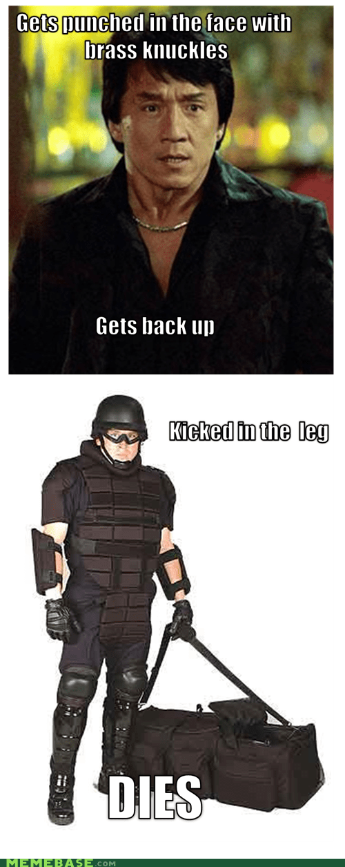 Jackie Chan knuckles Memes punch swat - 5950086912