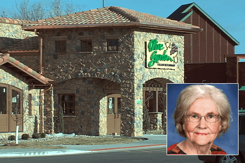 marilyn hagerty Not The Onion olive garden olive garden review Photo - 5950178048