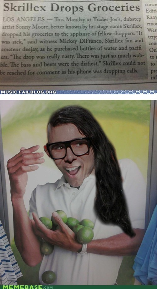 beat,drop,groceries,Limes Guy,Memes,skrillex