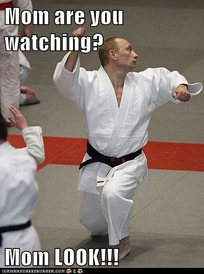 karate political pictures Vladimir Putin - 5950509824