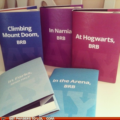 best of the week,book covers,books,brb,forks,Hogwarts,mount doom,narnia,send help