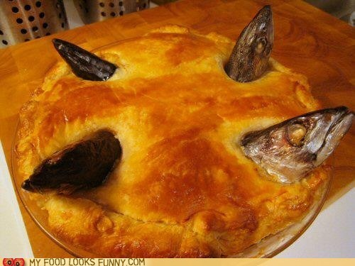 crust,fish,fish heads,pie,pot pie