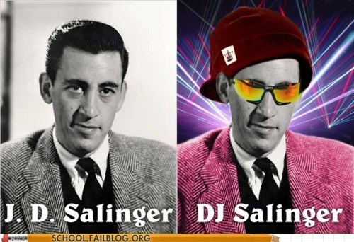 catcher in the rye DJ Salinger jd salinger literature - 5952263424