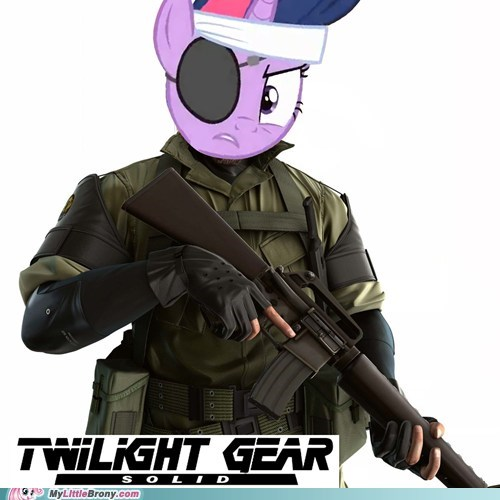 crossover metal gear solid new episode twilight gear twilight sparkle - 5952336896