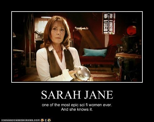 Elisabeth Sladen epic know it Sarah Jane Adventures sarah jane smith sci fi woman