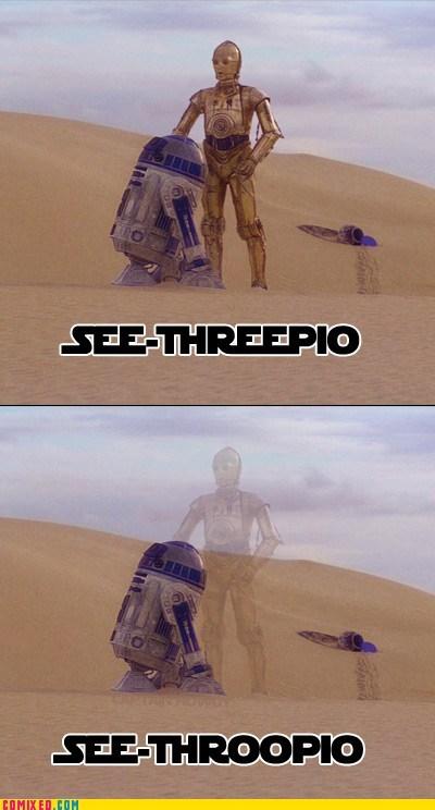 C3PO droids Memes r2d2 star wars - 5953243648