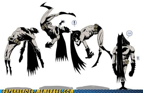 Awesome Art backflip batman cape wtf - 5953306368