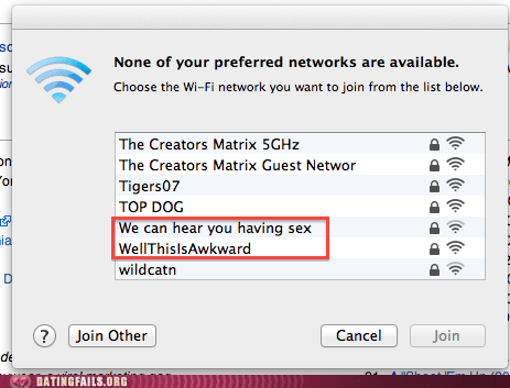 hear you having sex thicker walls this is awkward wifi networks - 5953383424