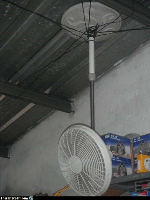 Spider fan