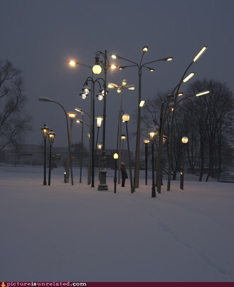 collection lamp post lights wtf