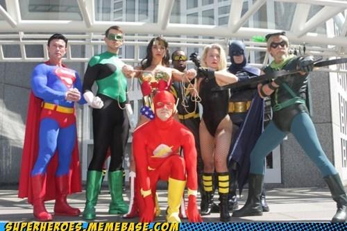batman Black Canary costume flash green arrow justice league Super Costume superman wonder woman - 5953601792