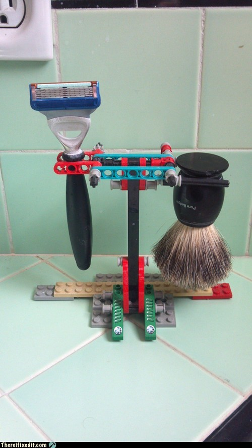 bathroom Hall of Fame lego shaving - 5953698816