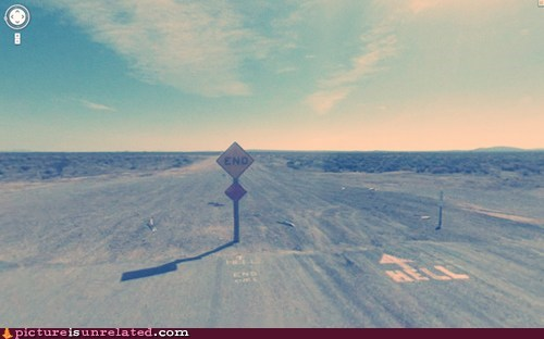 Google Street View Find,highway to hell,wtf