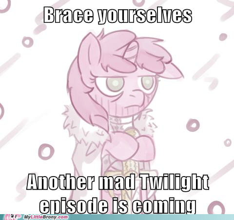 brace yourself doom meme twilight sparkle - 5953714176