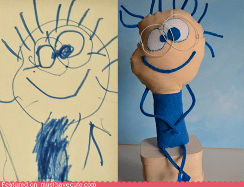 best of the week custom drawing handmade made to order toy - 5953771008