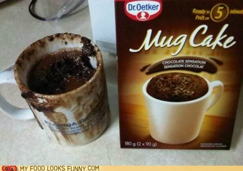 chocolate cooking mess mix mug cake perfect - 5953902848