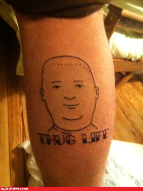 bobby hill king of the kill thug life - 5954013440