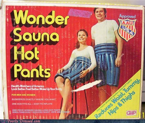 Hall of Fame,hot pants,inflatable,rubber,sauna,sauna pants