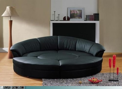 couch,huge,round