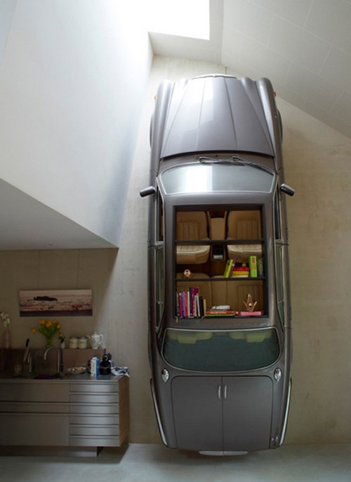 Badass Bookcase,cars,jaguar,Photo,vintage jaguar