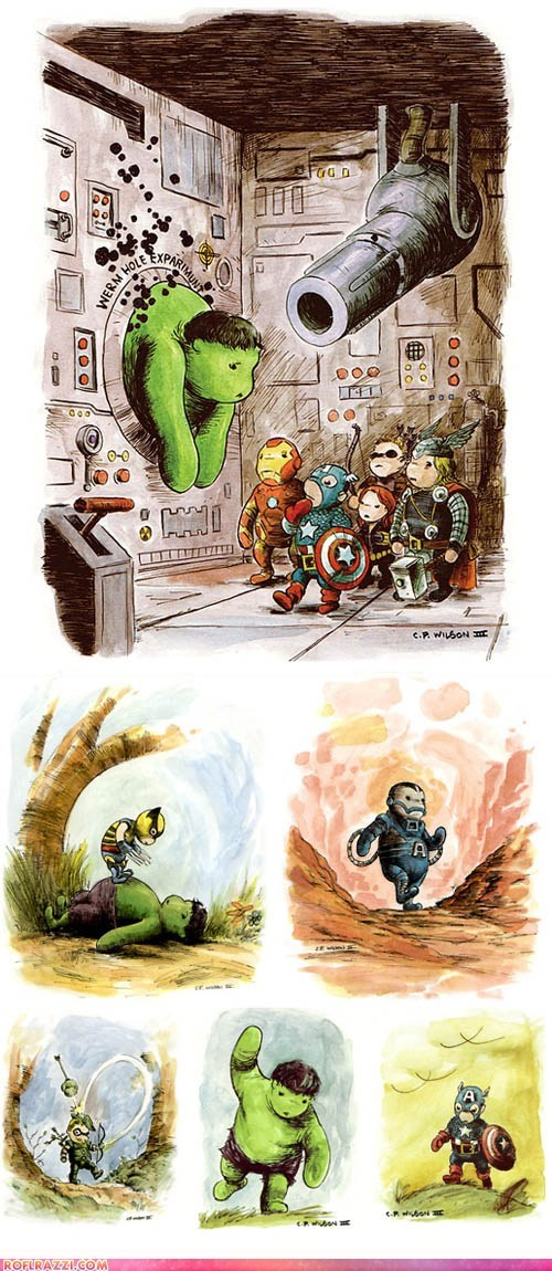 art awesome funny The Avengers winnie the pooh - 5954409472