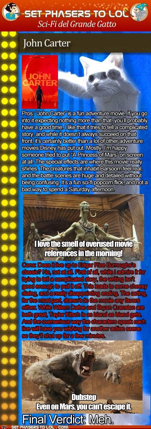 Brian Cranston cinema disney John Carter movies News and Reviews reviews taylor kitsch Willem Dafoe