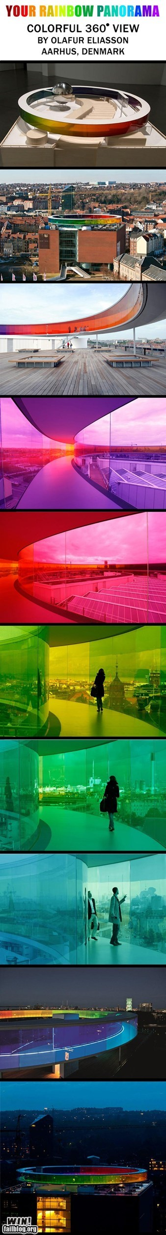 architecture,design,g rated,Hall of Fame,pretty colors,rainbow,win