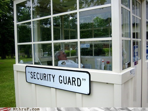 asleep,guard,security,security guard,sleeping