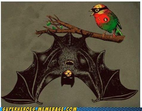 animals Awesome Art batman friends robin - 5954830336