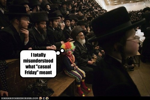 clowns judaism political pictures religion