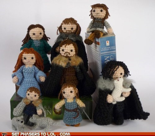 Game of Thrones - Cuddly Starks