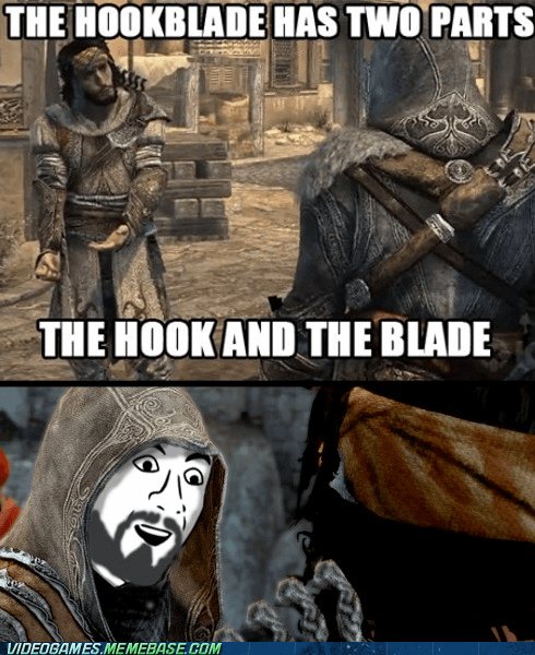 assassins creed,ezio,hookblade,meme,Rage Comics,revelations,you dont say