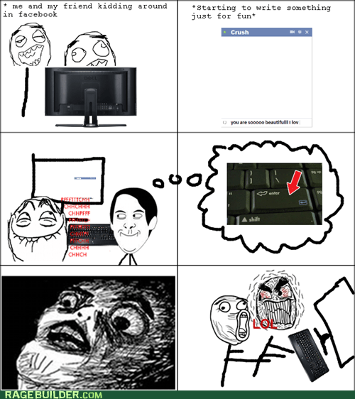 crush facebook Rage Comics raisin face - 5955201024