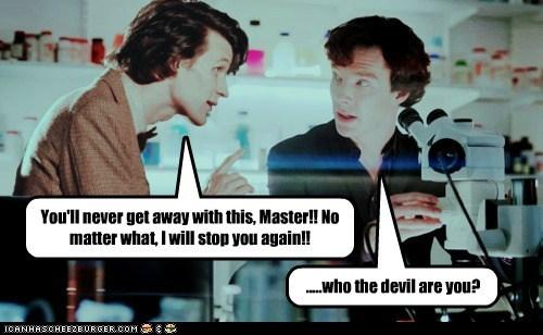 bennedict cumberbatch doctor who Matt Smith Sherlock sherlock bbc the doctor the master - 5955202304