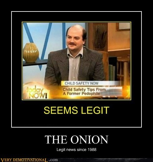 THE ONION Legit news since 1988
