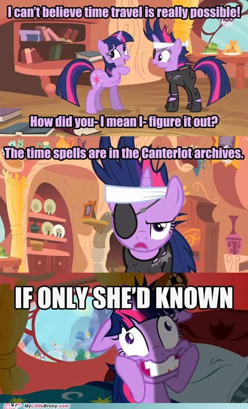 comics,crazy twilight,mare please,time travel,twilight sparkle