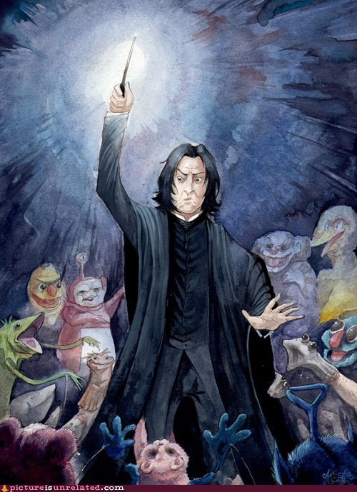 Harry Potter snape wtf - 5957110528