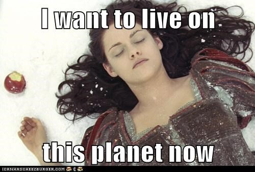 apple dead i dont want to live on this planet anymore kristen stewart poison snow white