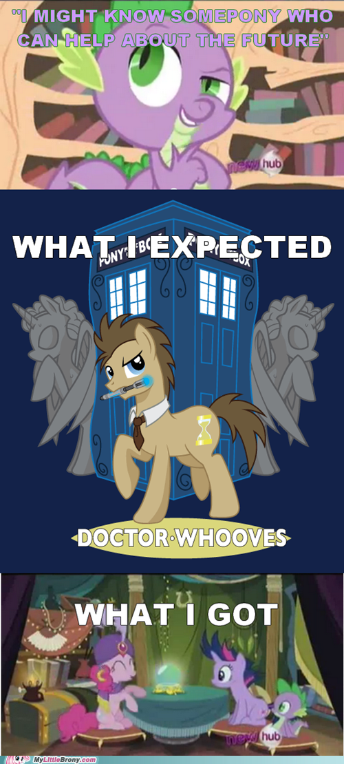 comics doctor whooves spike tardis time travel - 5958151680